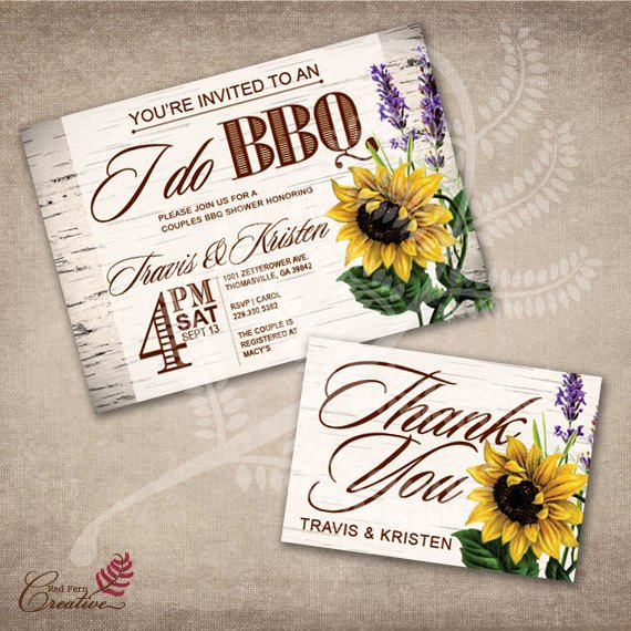 I Do Barbecue Invitations New I Do Bbq Invitation Couples Bbq Shower Invitation I Do by Obabybbq
