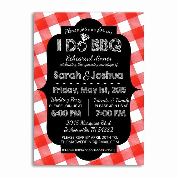 I Do Barbecue Invitations Unique I Do Bbq Invitation Rehearsal Dinner Invites I Do Bbq
