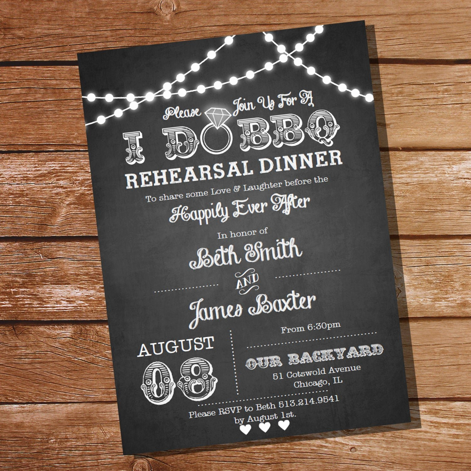 I Do Barbecue Invitations Unique I Do Bbq Rehearsal Dinner Invitation Instant Download and