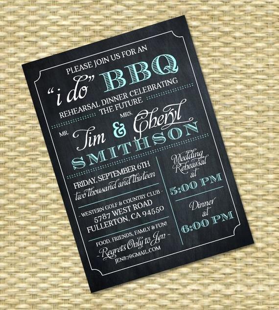 I Do Bbq Invitations Awesome I Do Bbq Invitation Rehearsal Dinner Invite Couples Shower