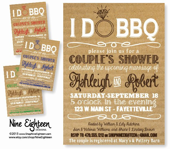 I Do Bbq Invitations Lovely Six Epic Ideas for An Amazing Couple's Shower the Pink Bride