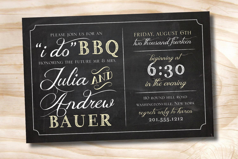 I Do Bbq Invitations Luxury I Do Bbq Rehearsal Dinner Invitation Printable Digital File