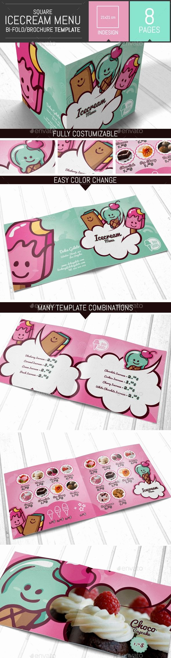 Ice Cream Menu Template Lovely Pin by Tareq Qarman On Brochure