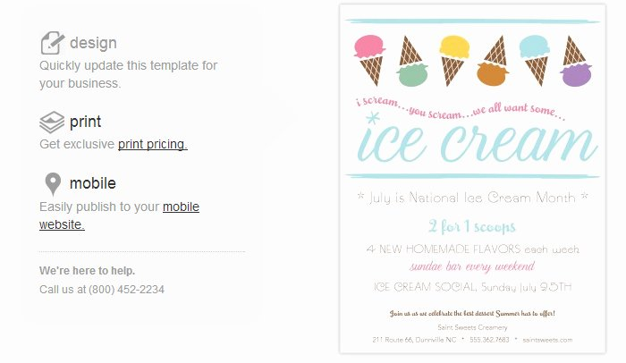Ice Cream Menu Template New 4 Ice Cream social Flyer Templates