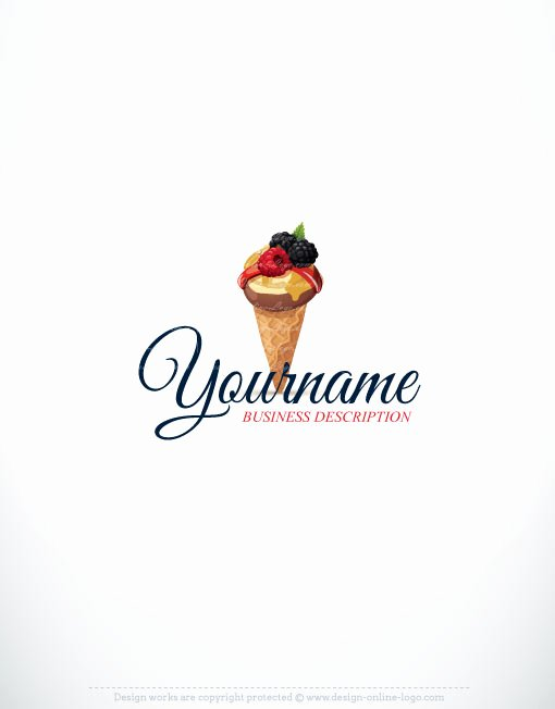 Ice Cream Restaurants Logos Elegant Exclusive Logo Design Ice Cream Logo Images
