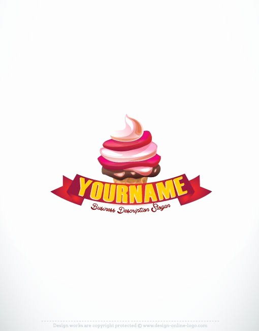 Ice Cream Restaurants Logos New Exclusive Logo Ice Cream Logo Image Free Business Card