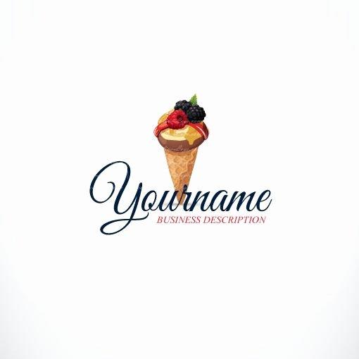 Ice Cream Restaurants Logos Unique Exclusive Logo Design Ice Cream Logo Images