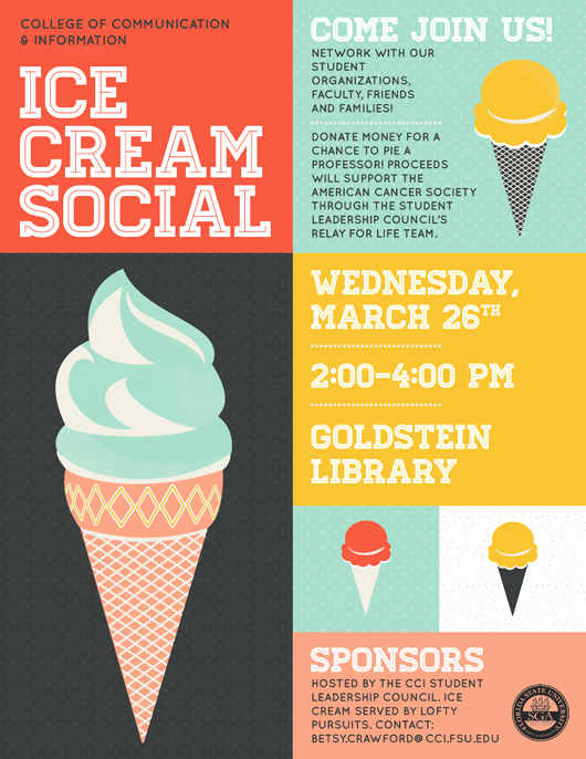 Ice Cream social Flyer Fresh Cci Spring Ice Cream social On March 26 From 2 4 P M – News & events