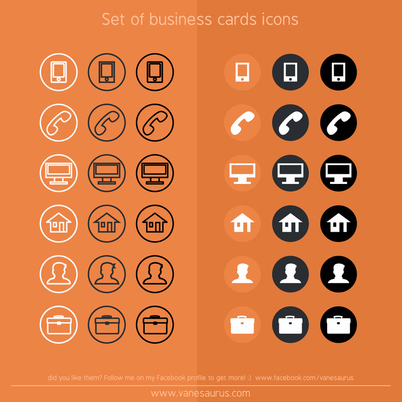 Icons for Business Cards Best Of 6 Useful Icons for Your Business Cards