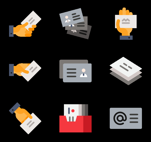 Icons for Business Cards Lovely Identification Icons 2 964 Free Vector Icons