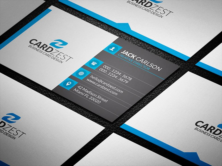 Icons for Business Cards Luxury Square Icons Professional Business Card Template Cardzest