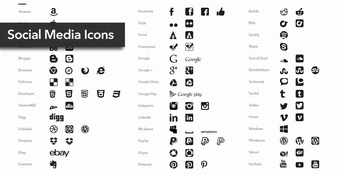 Icons for Business Cards New the Best Free Resources for Graphic Designers Websites