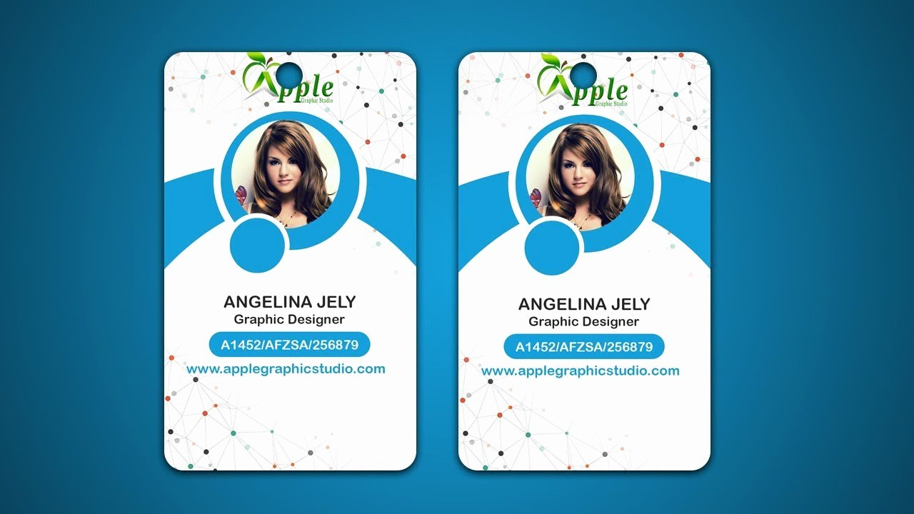 Id Badge Template Photoshop Awesome Design Id Cards & Id Badge Adobe Shop Tutorial
