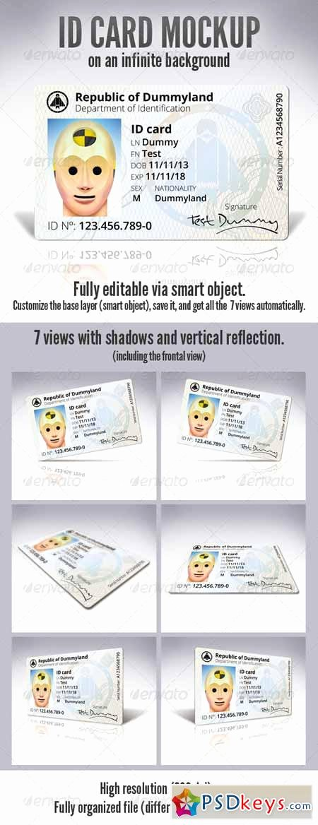 Id Card Template Photoshop Lovely Id Card Free Download Shop Vector Stock Image Via torrent Zippyshare From Psdkeys