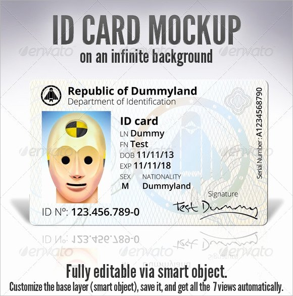 Id Card Templates Photoshop Awesome Id Card Template 19 Download In Psd Pdf Word