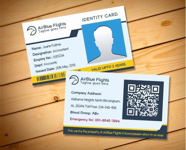 Id Card Templates Photoshop Elegant 30 Id Card Psd Templates