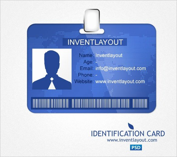 Id Card Templates Photoshop Lovely 29 Id Card Templates Psd