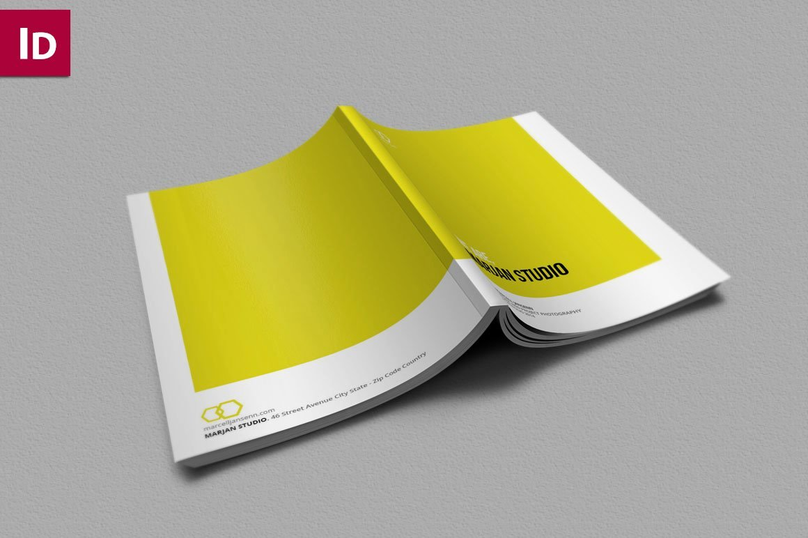 In Design Portfolio Templates Awesome Indesign Brochure Portfolio Brochure Templates Creative Market
