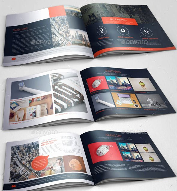 In Design Portfolio Templates Beautiful 30 Eye Catching Psd & Indesign Brochure Templates Web & Graphic Design