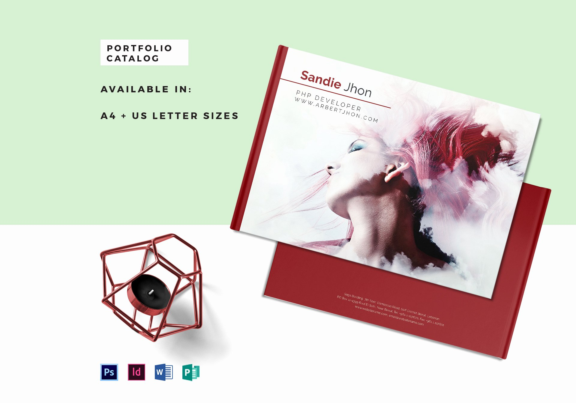 In Design Portfolio Templates Fresh Editable Portfolio Catalog Template In Psd Word Publisher Indesign
