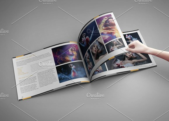 In Design Portfolio Templates Inspirational Portfolio Artbook for Indesign Templates On Creative Market
