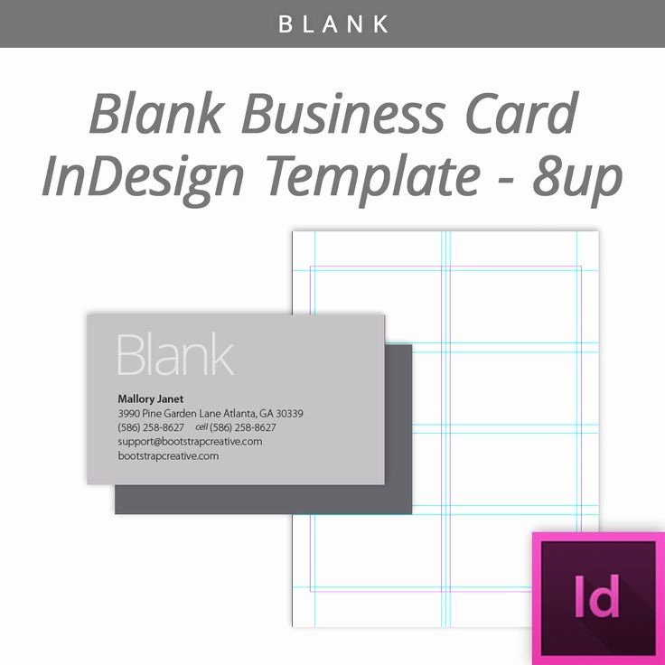 In Design Postcard Template Beautiful Blank Indesign Business Card Template 8 Up Free Download Designtemplate