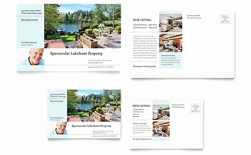 In Design Postcard Template Fresh Postcard Templates Indesign Illustrator Publisher Word