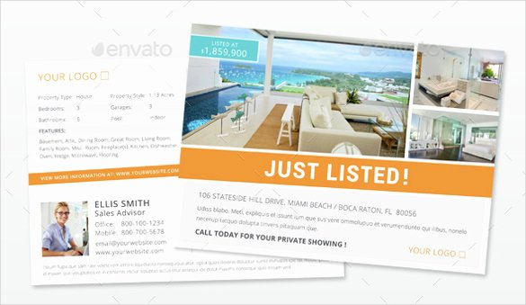 In Design Postcard Template Unique Realtor Postcard Template – 18 Free Psd Vector Eps Ai format Download