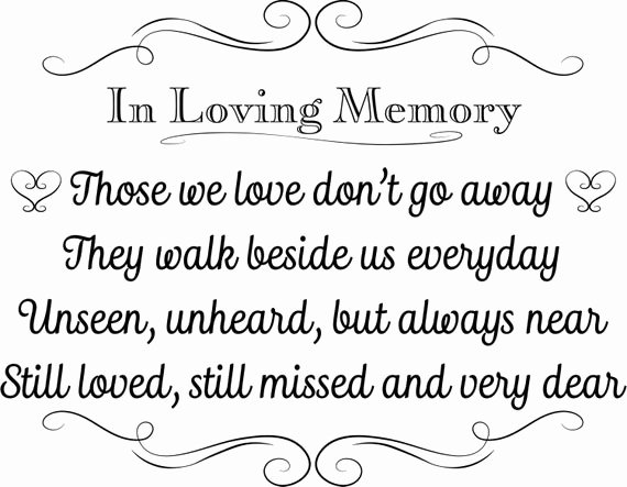 In Loving Memory Template Free Awesome Printable Wedding Sign In Loving Memory Instant Download 3
