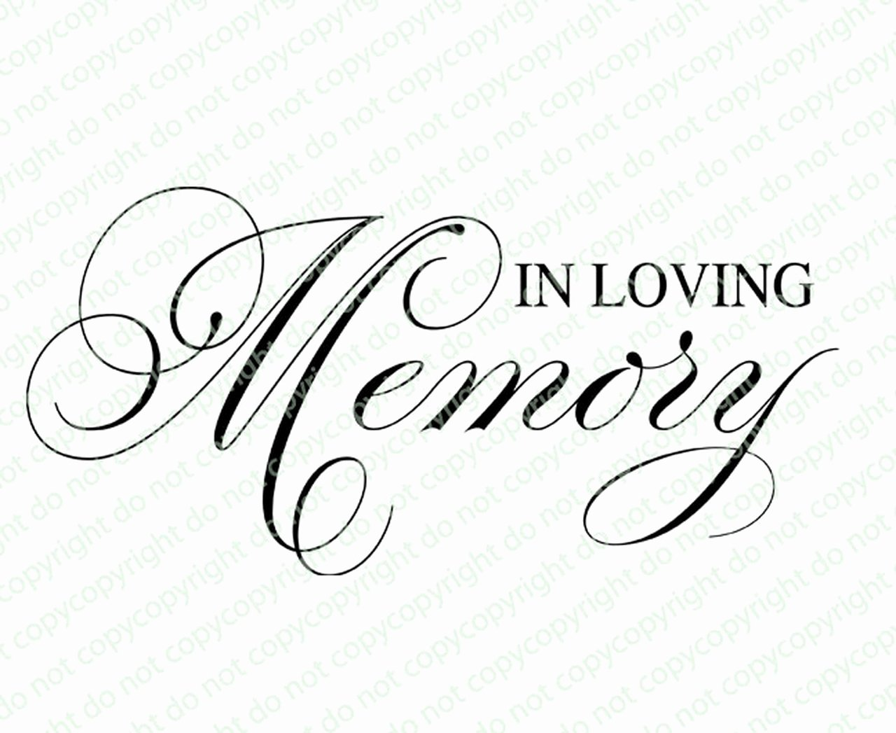 In Loving Memory Template Free Beautiful In Loving Memory Program Title the Funeral Program Site