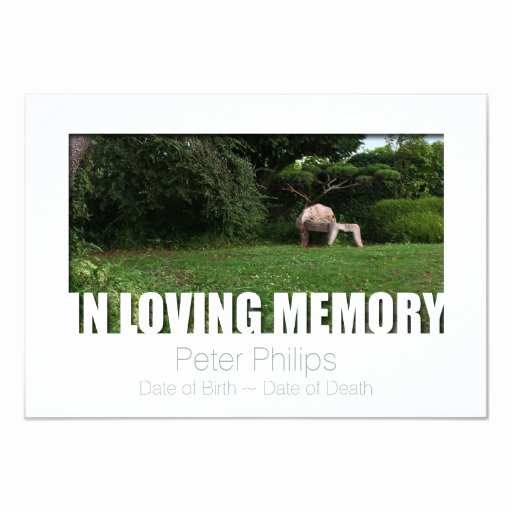 In Loving Memory Template Free Fresh In Loving Memory Template 10 Celebration Of Life Card
