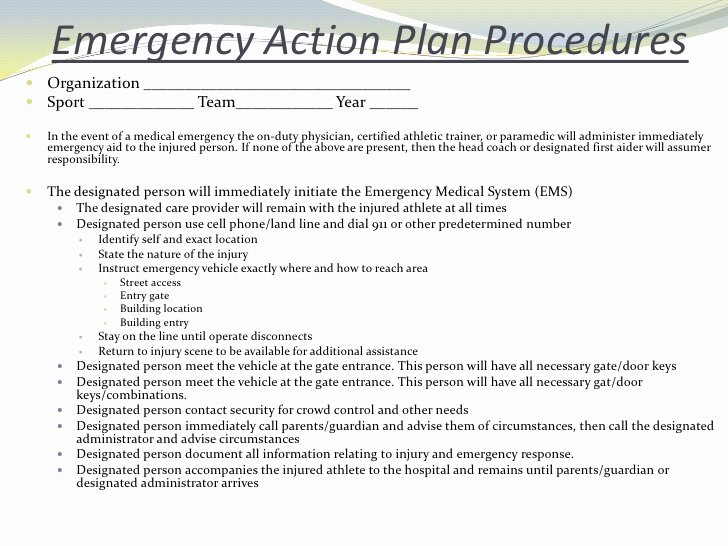 Incident Action Plan Example Luxury Emergency Situations and Injury assessmentsp2010 Student