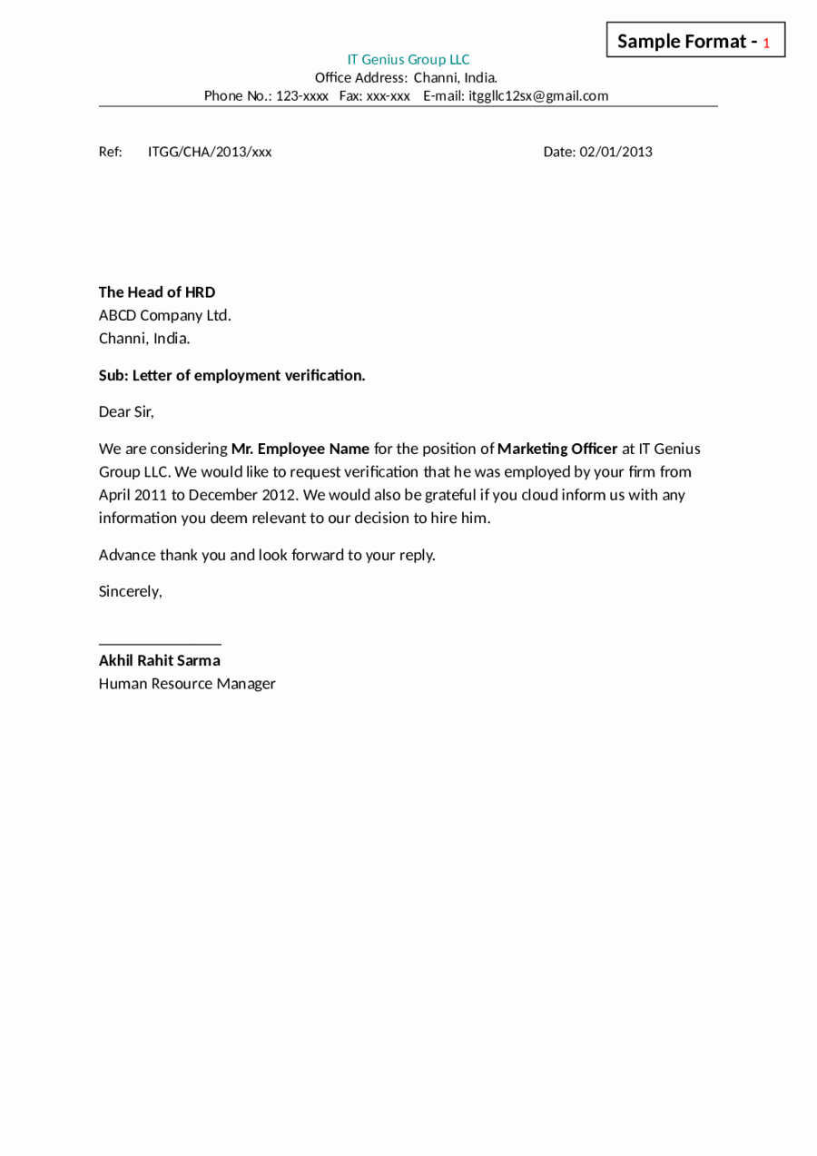 Independent Contractor Resignation Letter Lovely 2019 Letter Of Employment Fillable Printable Pdf & forms