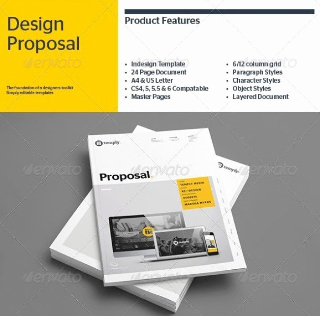 Indesign Business Plan Template Beautiful 48 Best Business Proposal Templates In Indesign Psd & Ms Word