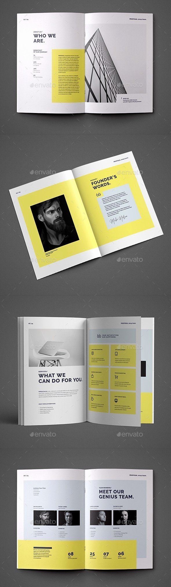 Indesign Business Plan Template Elegant 30 Indesign Business Proposal Templates