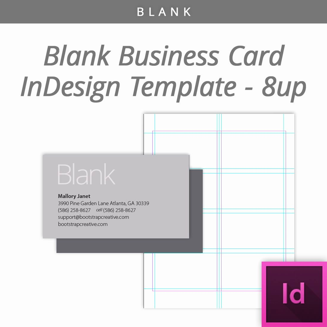 Indesign Business Plan Template Fresh Blank Indesign Business Card Template 8 Up Free Download Designtemplate