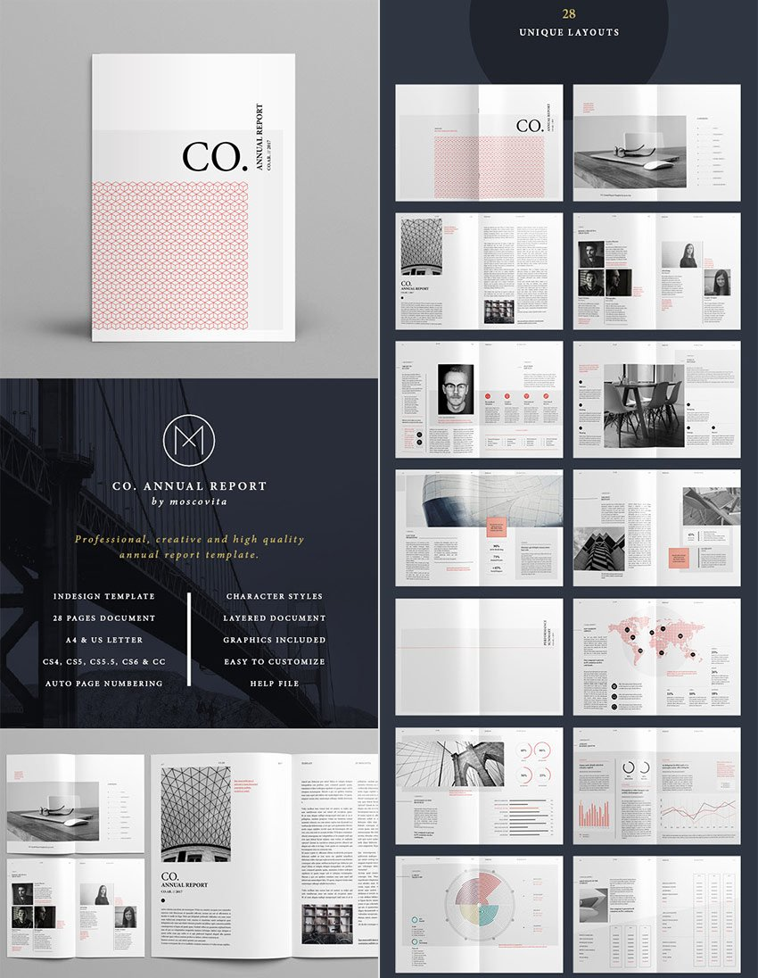 Indesign Business Plan Template New 25 Best Annual Report Templates with Creative Indesign Layouts 2019