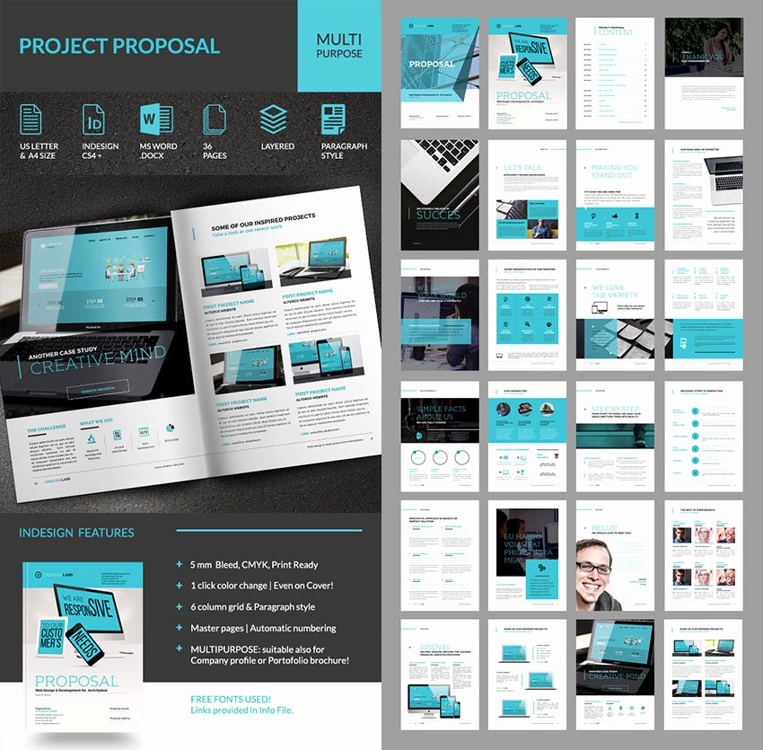 Indesign Business Plan Template Unique 15 Best Business Proposal Templates for New Client Projects