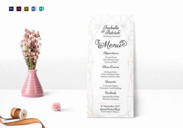 Indesign Wedding Program Template Best Of 26 Wedding Ceremony Program Templates Psd Ai Indesign Pdf Doc
