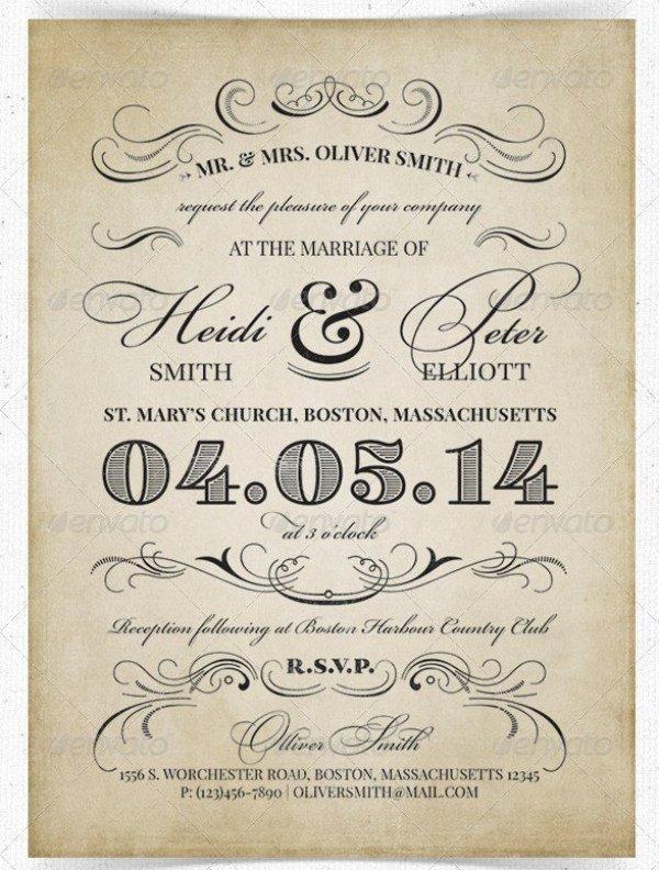 Indesign Wedding Program Template New 37 Awesome Psd & Indesign Wedding Invitation Template Designs for Weddings Psdtemplatesblog