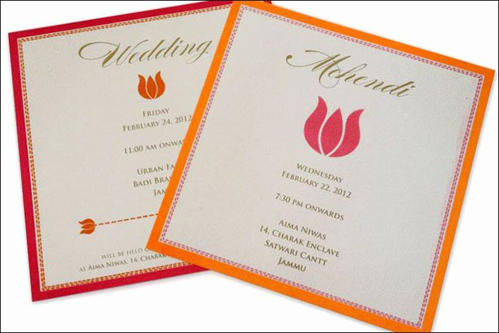 Indian Wedding Invitation Templates Awesome 10 Awesome Indian Wedding Invitation Templates You Will Love