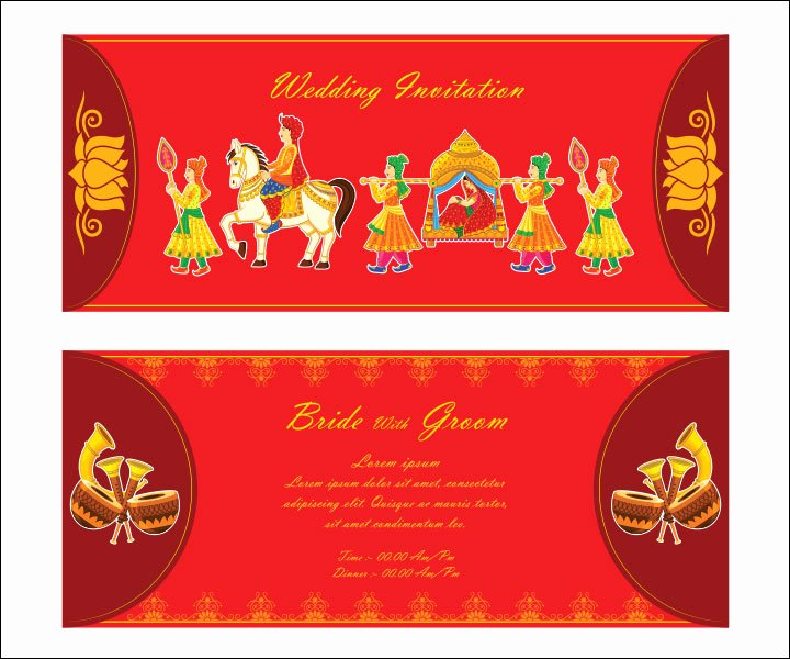 Indian Wedding Invitation Templates Beautiful 10 Awesome Indian Wedding Invitation Templates You Will Love