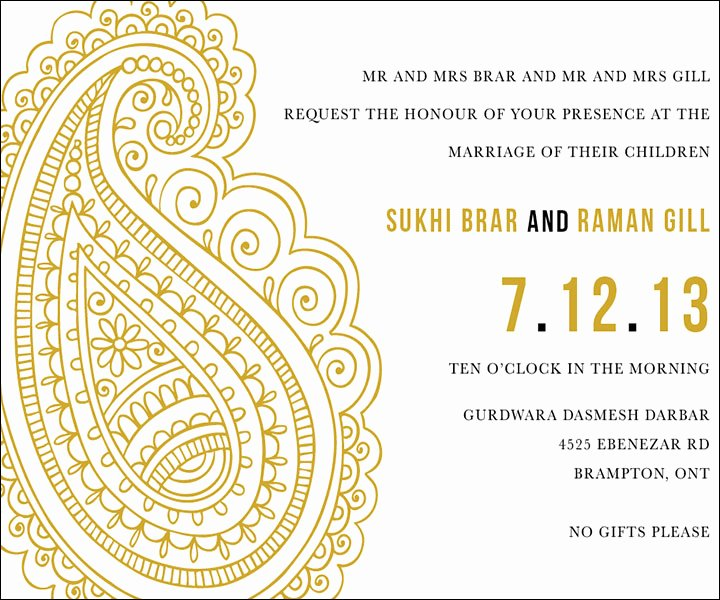 Indian Wedding Invitation Templates Inspirational 10 Awesome Indian Wedding Invitation Templates You Will Love