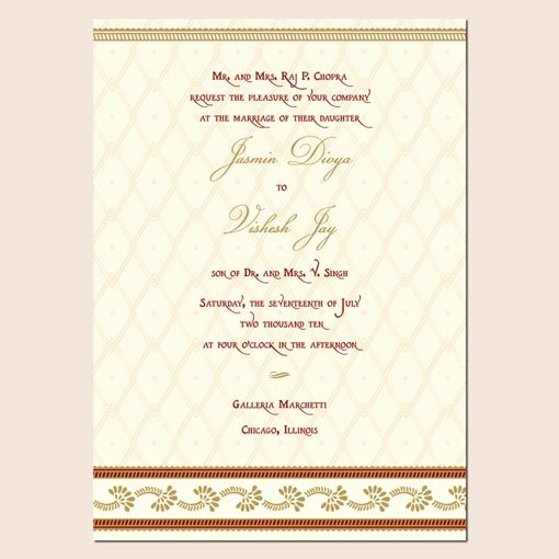 Indian Wedding Invitation Templates Lovely Indian Wedding Invitation Template Shaadi