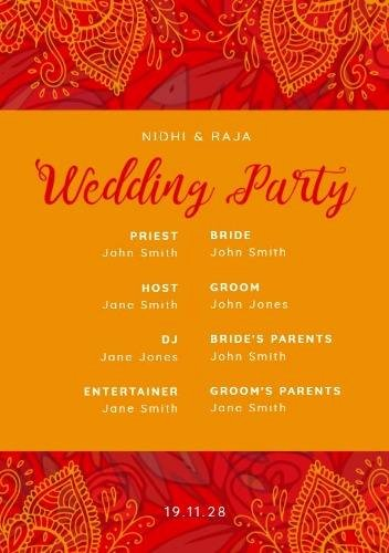 Indian Wedding Invitation Templates New Instantly Produce Your Own Indian Wedding Invitation