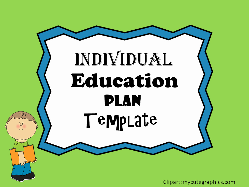 Individual Learning Plan Template Best Of Individual Education Plan Iep Template – Mash