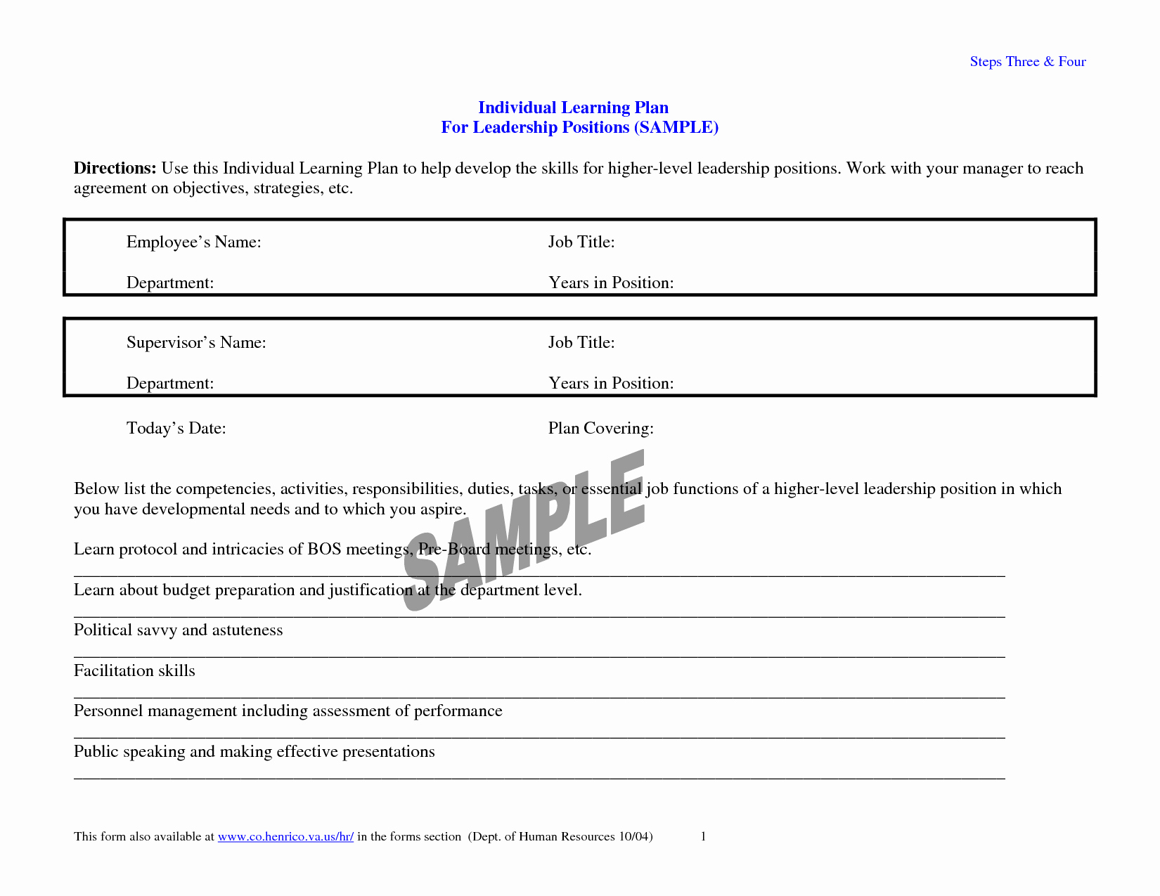 Individual Learning Plan Template Lovely 23 Of Learning Plan Template