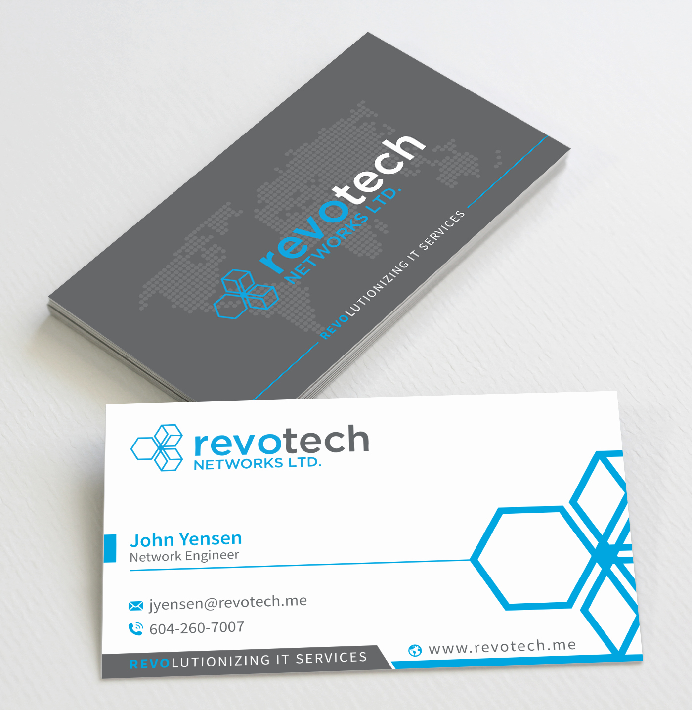 Information Technology Business Cards Awesome 245 Modern Business Card Designs