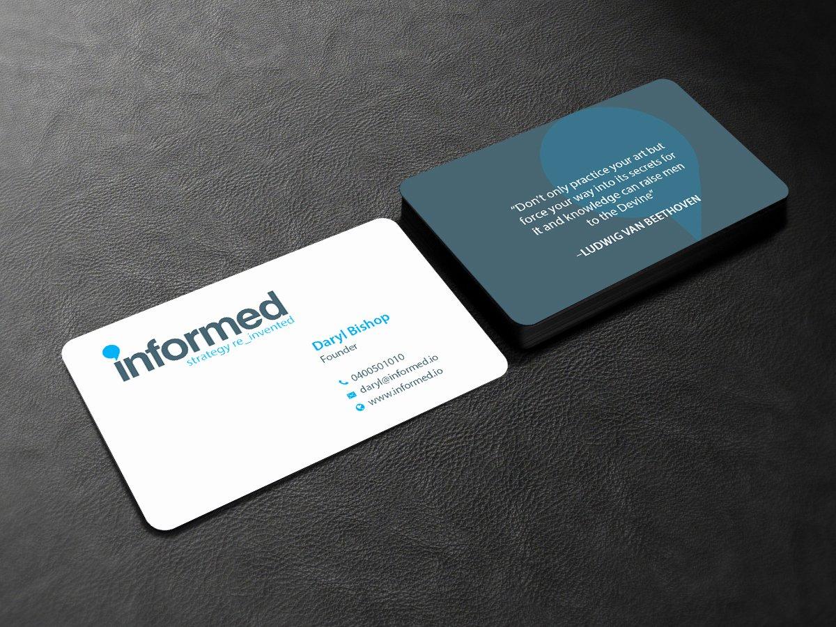 Information Technology Business Cards Elegant 109 Modern Playful Information Technology Business Card