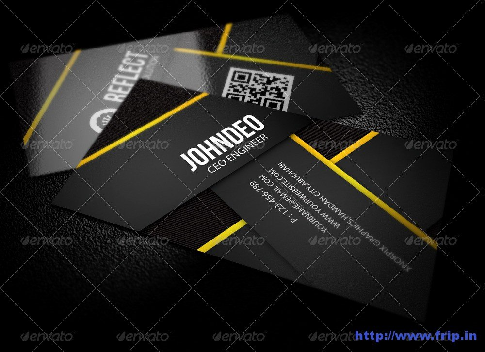 Information Technology Business Cards Fresh 50 Best Corporate Business Cards Design Print Templates